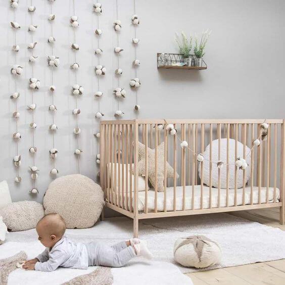 Ambiente seguro para o bebê.